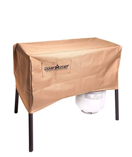 Camp Chef Patio Cover for 2 Burner Stoves (Renewed)