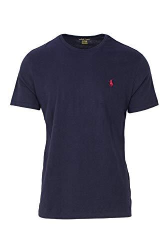 RALPH LAUREN Polo Men's Crewneck T-Shirt (X-Large  Ink) ()