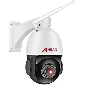 【5MP 20X Zoom】CCTV Camera ANRAN Wifi Outdoor PTZ Camera 2K Wireless Home Security Surveillance IP DomeCamera Two-Way…