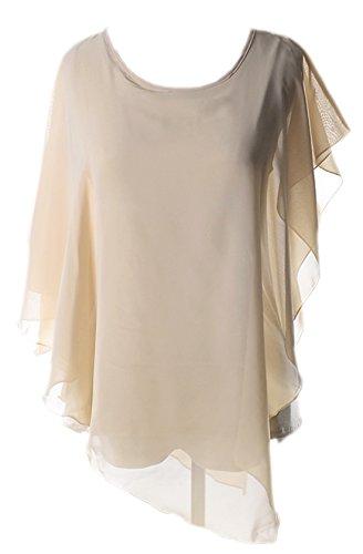 Vian Lundgaard - Camisas - Semitransparente - para mujer Beige