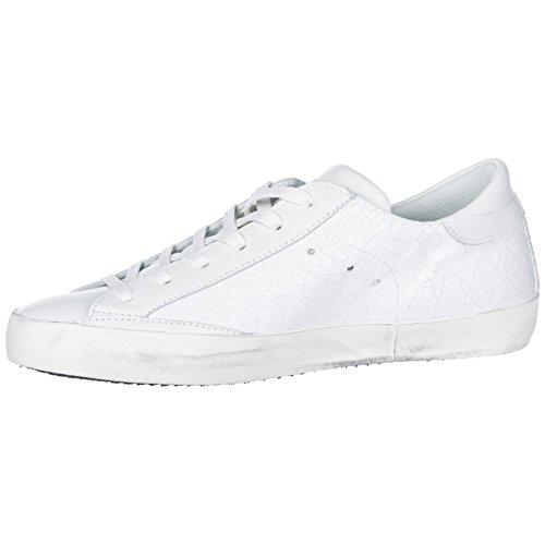 Homme Chaussures Baskets Paris Model Blanc Cuir En Sneakers Philippe nqIaa