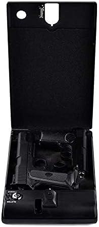 Hammer Pistola biométrico seguro, rápido acceso por huella digital del arma caja y la tapa de