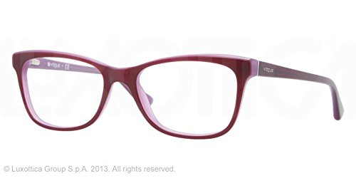 Amazon.com: Vogue VO2763 Eyeglass Frames 2015-5117 - Top Dark Violet ...