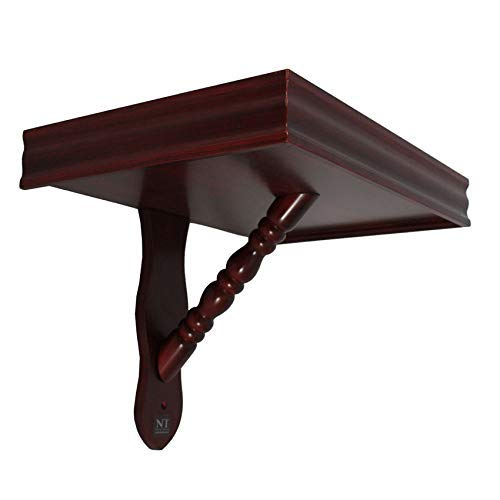 NT furniture Buddha Altar Shelf Stand Wooden Wall Rack Nop (12x18x12.5 inches, Cherry) by NT furniture (Image #1)