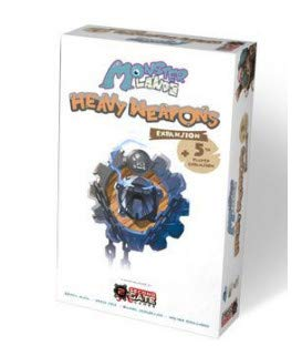 Monster Lands Game Expansion Heavy Weapons