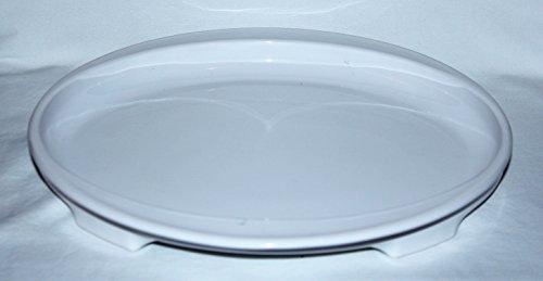 Vintage Corning Ware Pyroceram White Crisper Browner Plate Dish