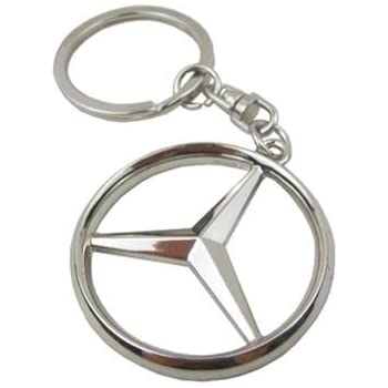 Oriental elife mercedes benz 3d logo chrome for Mercedes benz keychains