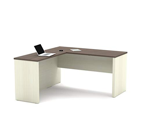 Bestar L-Shaped Desk - Prestige Plus (Computer Desk Cherry Bestar)