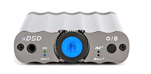 iFi xDSD Portable Bluetooth aptX DAC and Headphone Amplifier, with MQA and DSD. Use with Smartphones/Tablets/Computers/Digital Audio Players, Via Coaxial/Optical/USB (Best Portable Headphone Amp Dac Combo)
