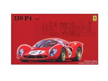 フジミ模型 1/24 ヒストリックレーシング カーシリーズ HR24 フェラーリ330P4 ゼッケンNO.21の商品画像