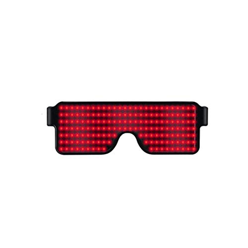 ce6de48311 Finetoknow LED Party Glasses ,Flashing LED Glasses , Glowing Light Festival  Party Sunglasses ,Amazing