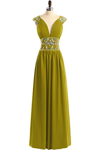 TOSKANA BRAUT - Vestido - trapecio - para mujer verde oliva