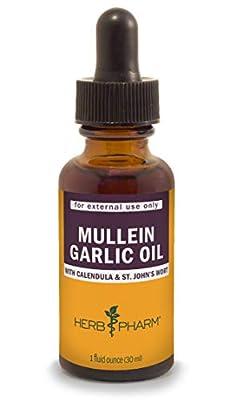 Herb Pharm Mullein Garlic Herbal Oil, 1 ounce