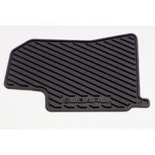 SUBARU Genuine J501SSA110 All Weather Mats Forester, 1 Pack