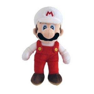 Peluches Mario Bros 18cm. Super Mario Bros Mario rojo y blanco