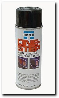 - Mar-Hyde One-Step Rust Converter Primer Sealer, 10 oz. aerosol (3509)