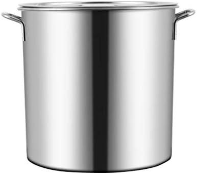40センチメートル大証券ポットは、ステンレス鋼の在庫の鍋ステンレス鋼のふた誘導ベース、高速熱伝導、簡単にきれいに調理