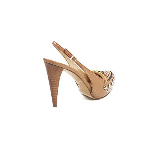 Rodo Sandalo Donna S7598 485 128 Cammello