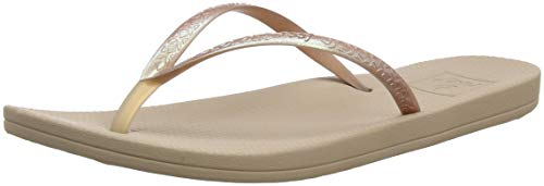 Reef - Womens Escape Lux Metals Sandals, Size: 8 B(M) US, Color: Rose Gold ()