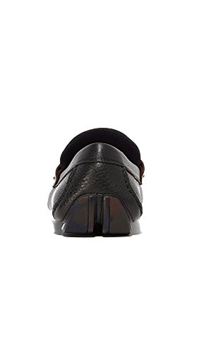 Drivers Leather Salvatore Black Men's Granprix Bit Ferragamo ZnTXA4