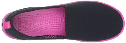 Black Skimmer Fuchsia Busy Women's Day Crocs Trainers Black Duet qw64xH