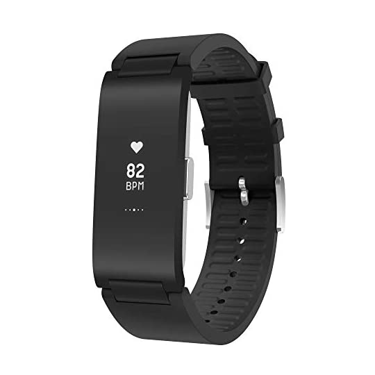 Withings Pulse HR – Water Resistant Health & Fitness Tracker with Heart Rate and Sleep Monitor, Sport & Activity…