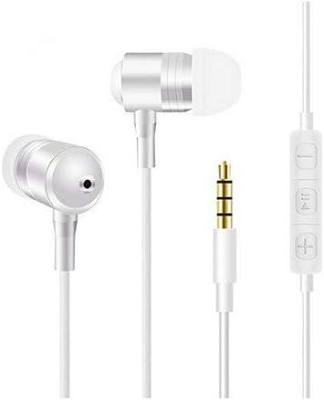 Shot Case – Auriculares Metal para LG G6 Blanco: Amazon.es ...