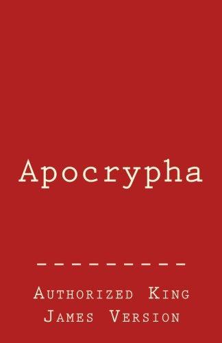 Apocrypha: Authorized King James Version