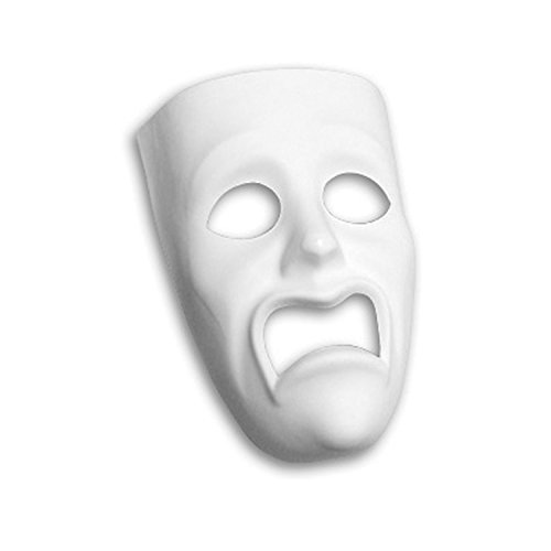 Creativity Street PM4210 Pacon PACAC4210 Plastic Mask, Sad Face