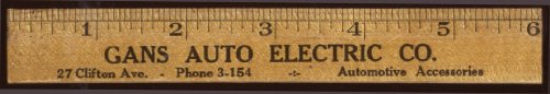 Gans Auto Electric Goodrich Silvertown Ties ad (Ad Rulers)