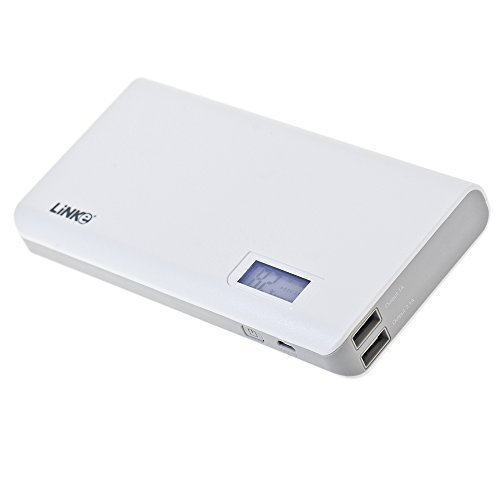 Power Bank , Linke Smartcharger Portable Charger External Battery 20000 mAh Power Bank for Mobile Device, Cell Phone, iPhone, iPad, Samsung Galaxy, Blackberry, iPod, MP3, PSP, PDA, GPS and Most USB Devices (20000 mAh)