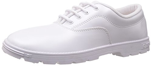 Prefect (from Liberty) S/Boy White EVA Formal Shoes - 4 UK