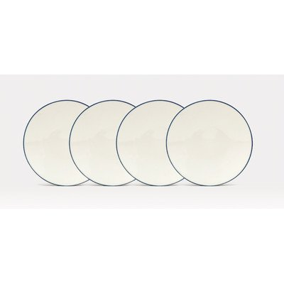 Noritake Colorwave Blue 6-1/4-Inch Plates, Set of 4 ()