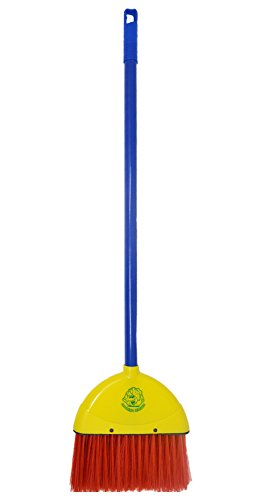 Kids Broom by Laughing Lettuce - Children's Toy Broom Sweeps Like a Real Broom - Montessori Broom