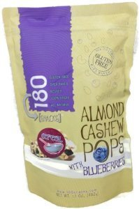 Price comparison product image 180 Snacks All Natural Gluten Free Almond Pops Snacks 15oz (Blueberries)