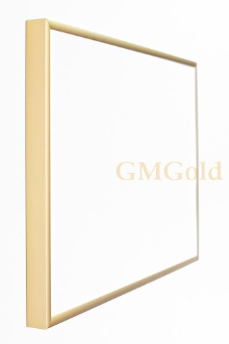 Large Gold Aluminium Poster Frame 158x53 cm (Approx 62x21 inch ...