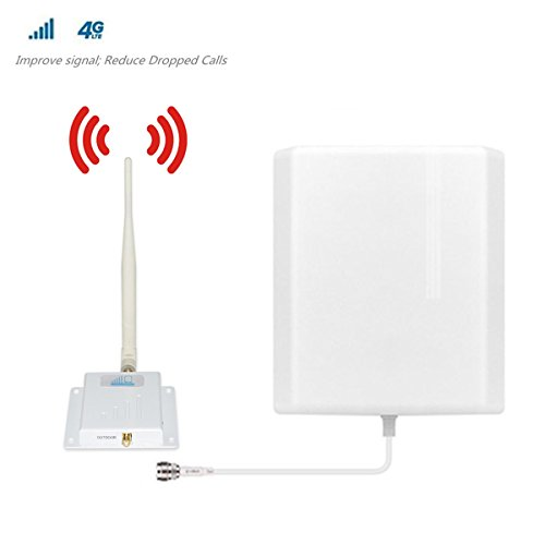 Verizon Cell Phone Signal Booster 4G LTE Cell Signal Booster HJCINTL FDD Band 13 700MHz High Gain 4G Home Mobile Phone Signal Booster Amplifier