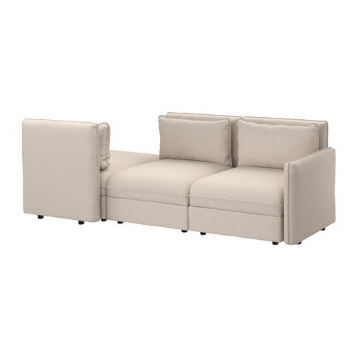 Ikea Sleeper sectional, 3-seat, Orrsta beige 10204.20811.222