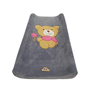 BlueSnail Ultra Soft Changing Pad Cover (Gray Bear)