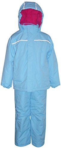 (Pulse Little Girls Snow Suit Ski Jacket and Snow Pants (Large 7, Blue))