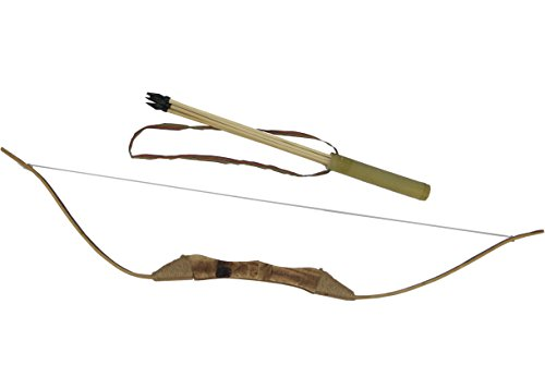 Wooden Bow and Arrows with Quiver and Arrows for kids / children / adult