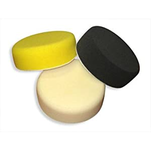 "Detail King Porter Cable Single Sided 6"" Foam Pads - One Of Each (3)"