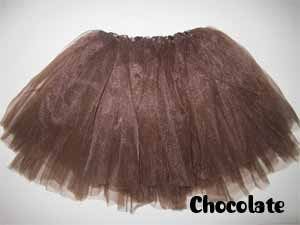 [Chocolate Ballet Tutu by Coxlures] (Vanellope Costume)