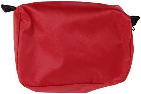 NHUAIYINSHUGUOGUANGGAOJINGY Erste-Hilfe-Set 0,7 l rot Camping-Notfall-/Überlebenstasche Verbandmittel wasserdicht rot