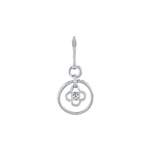 Giantti 14 carats Diamant Homme Pendentif Collier (0.0508 CT, VS/Si-clarity, Gh-colour)