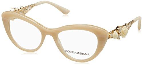 Eyeglasses Dolce & Gabbana DG 3265B 3084 BEIGE - Dg Glass Frames