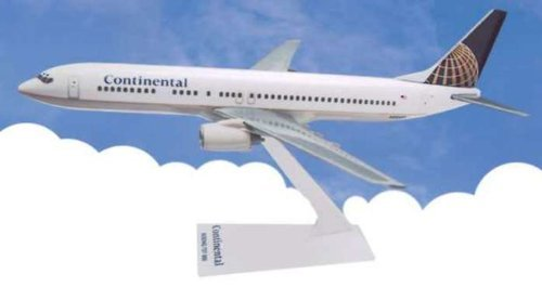(Flight Miniatures Continental Airlines 1991 Boeing 737-900 1/200 Scale)