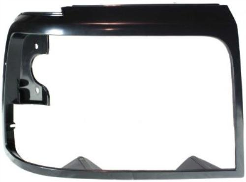 Headlight Ford Assembly F53 (CPP Black Single Headlight Door for Ford Bronco, F Super Duty, F-Series, F53, F59)
