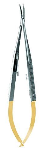 Hu-Friedy NH5022 Arruga Perma Sharp Needle Holder, 6.25'' by HU FRIEDY