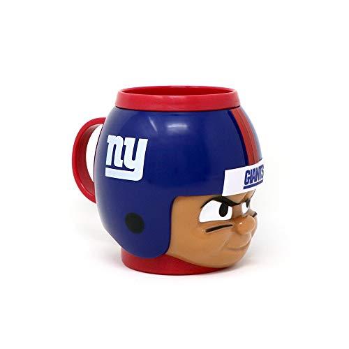 Party Animal Officially Licensed NFL BMGI New York Giants Big Sip Drink Mug, 16oz, Multi